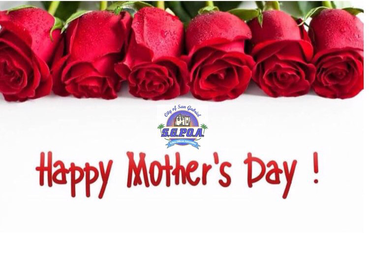 SGPOA WISHES YOU A HAPPY MOTHER'S DAY!
